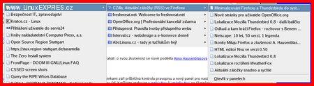 Aktuální záložky CZilla.cz.