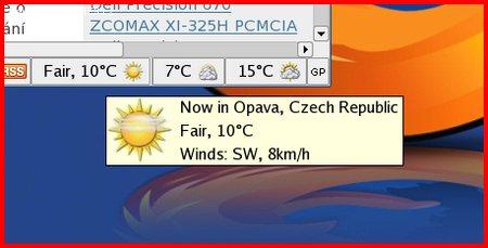 Počasí v Opavě.