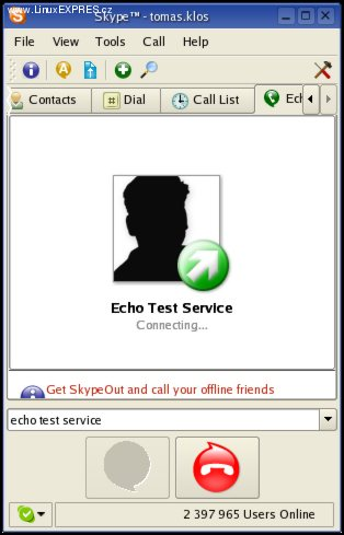 Obrázek: Echo Test Service