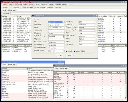 Obrázek: Účetnictví on-line – Přijaté faktury