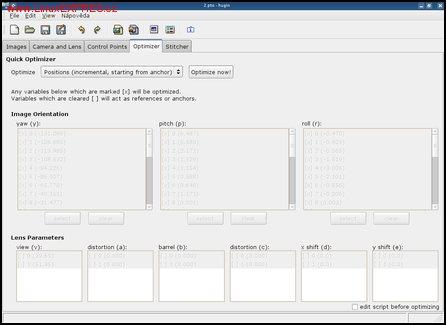 Obrázek: Nastavení optimalizace