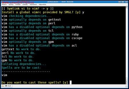 Obrázek: Program Sorcery aneb Ukázka barev skriptů SML