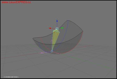 Obrázek: Vizuálne zobrazenie rozsahu možného otáčania kosti