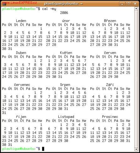 Obrázek: Kalendář na rok 2006