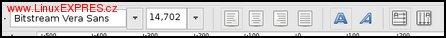 Obrázek: Panel pro nastavení textu