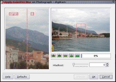 Obrázek: Rozmazání obrázku