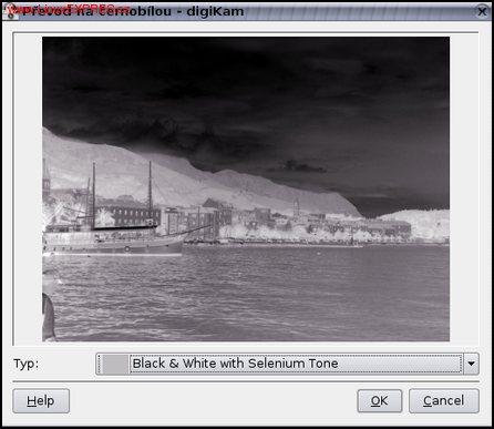Obrázek: Převod barev na tóny šedé