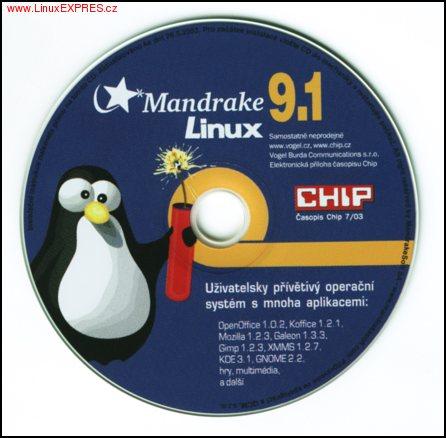 Obrázek: Mandrake 9.1