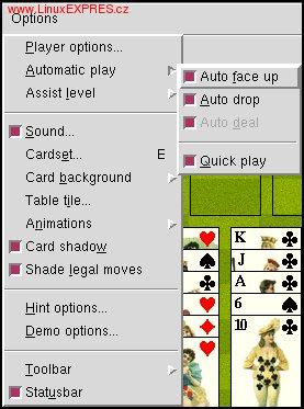 Obrázek: Možnosti automatického ťahania