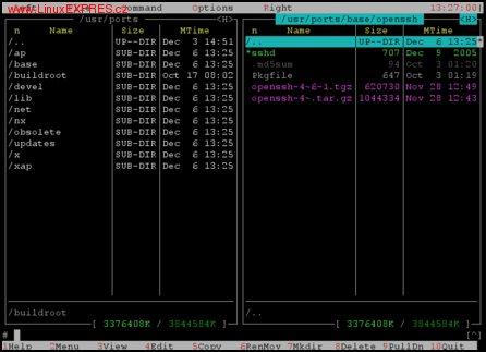 Obrázek:Struktura /usr/ports