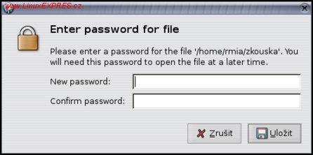 Obrázek: Heslo k souboru s hesly