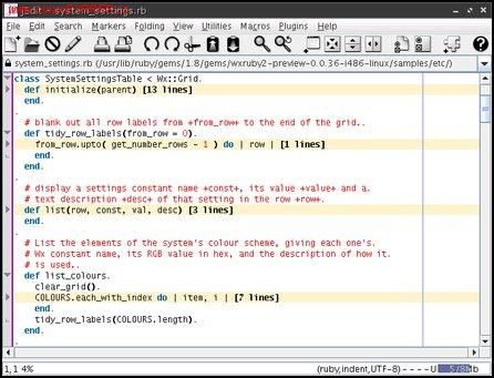 Obrázek: Ukázka možností foldingu