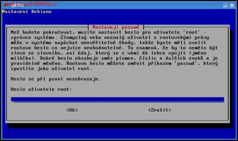 Obrázek: Zadání hesla