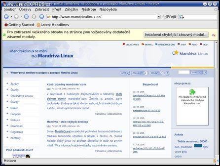 Mandriva Linux 2006 beta 3